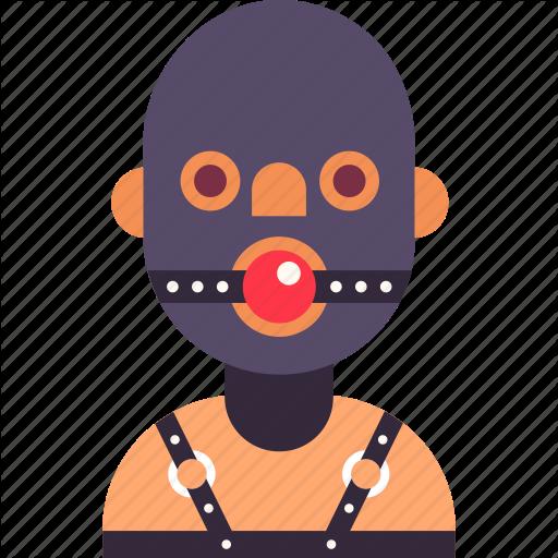 Avatar, Bdsm, Gag, Man, Mask, Rubber, Slave Icon