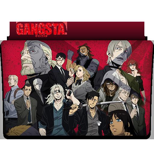 Gangsta Anime Folder Icon