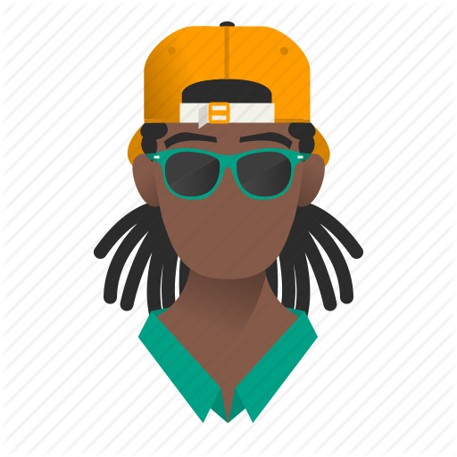 African, Avatar, Boy, Cap, Character, Fashion, Gangster, Glasses