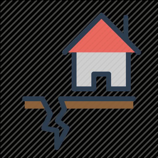 Earthquake, Gap, House, Temblor Icon