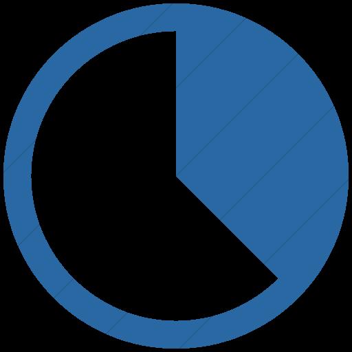 Simple Blue Ocha Humanitarians Activity Gap Analysis Icon