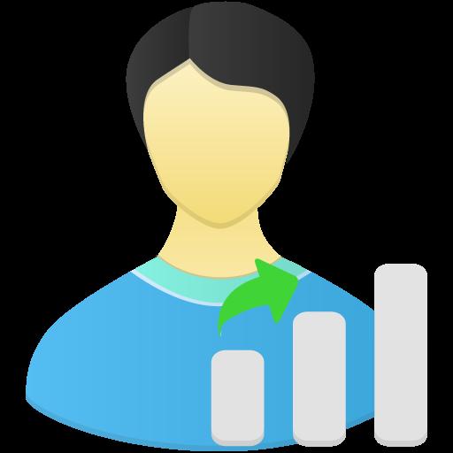 User Skill Gap Icon Flatastic Iconset Custom Icon Design