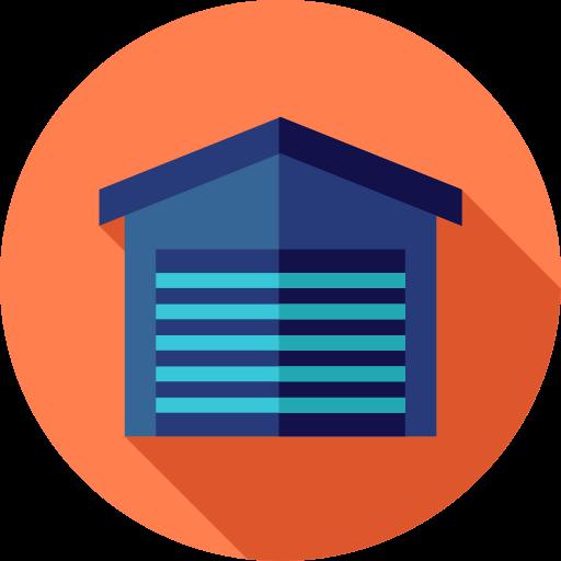 Business, Car, Vehicle, Parking, Real Estate, Garage Icon