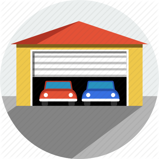 Cars, Garage Icon