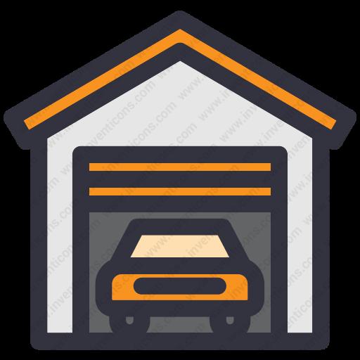 Download Garage,park Icon Inventicons