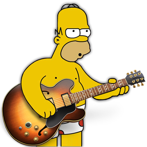 Garage Band Homer Icon Free Download As Png And Icon Easy