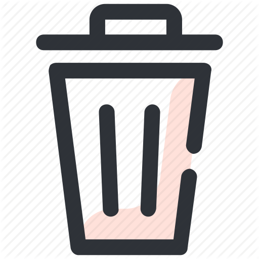 Bin, Dustbin, Garbage, Garbage Can Icon