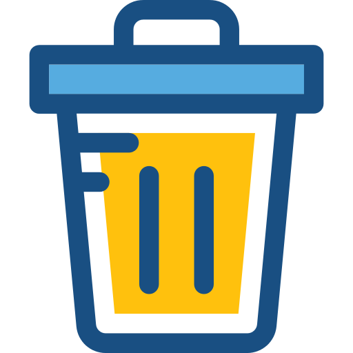 Garbage Basket Png Icon