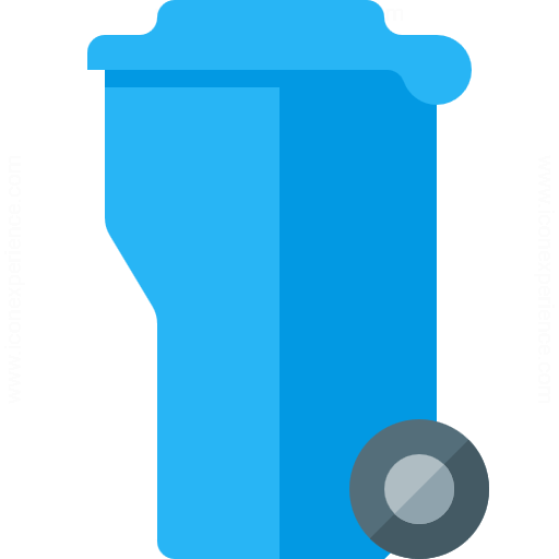 Iconexperience G Collection Garbage Container Icon
