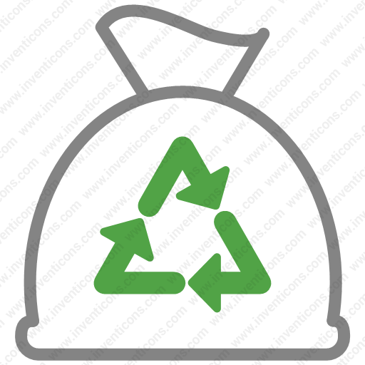 Download Bag,clean,cleaning,disposal,garbage,trash Icon Inventicons