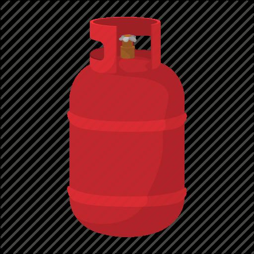 Gas Tank Cartoon Schematic Diagram