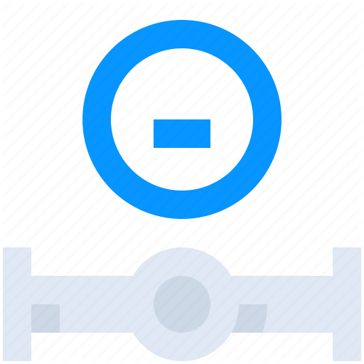 Building, Construction, Gas, Meter, Pipe, Water Icon