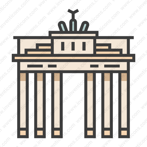 Download Brandenburg,gate Icon Inventicons