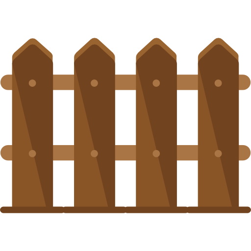 Fence, Garden, Gardening, Gate, Wood Icon