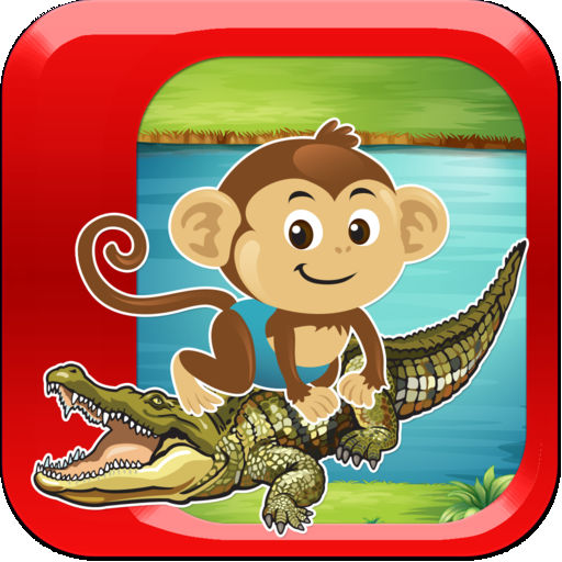Monkey Survival Jump Saga Pro