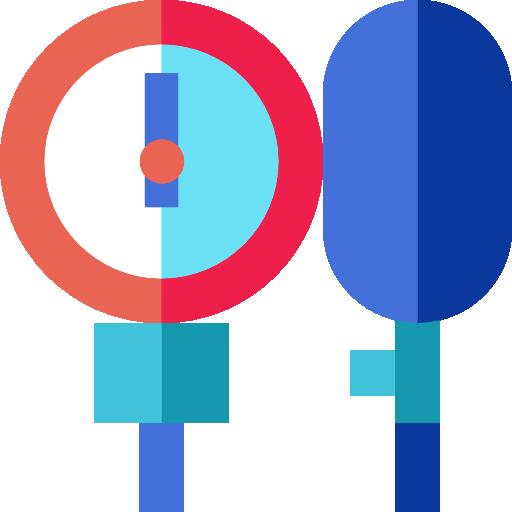 Blood Pressure Gauge Icon