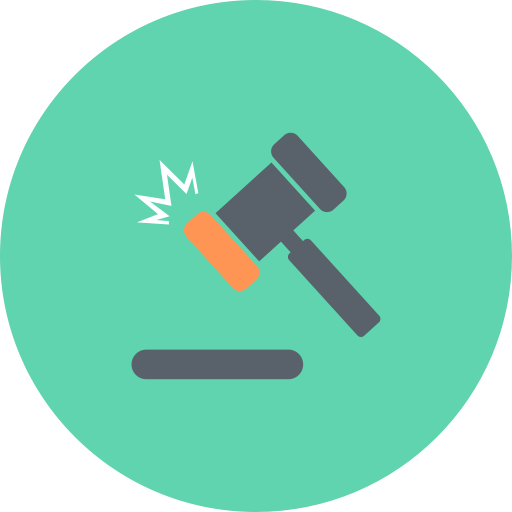 Acquisitions, Finance, Hammer, Gavel, Justice, Auction, Law Icon