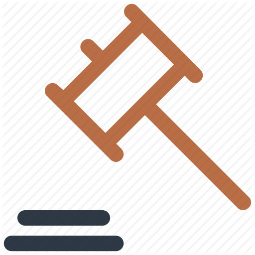 Gavel, Hammer, Justice, Law Icon Icon