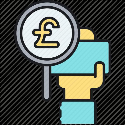 British Pound, English Pound, Gbp, Great Britain Pound, Pound, Icon