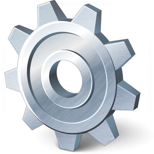 Iconexperience V Collection Gear Icon