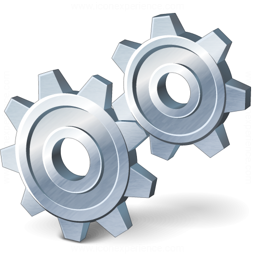 Iconexperience V Collection Gears Icon