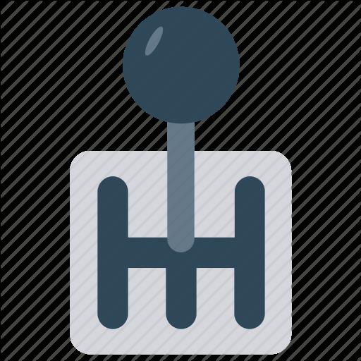 Car, Control, Gear, Shift, Vehicle Icon