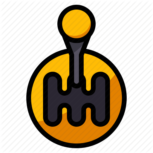 Car, Gear, Shift, Speed, Stick Icon