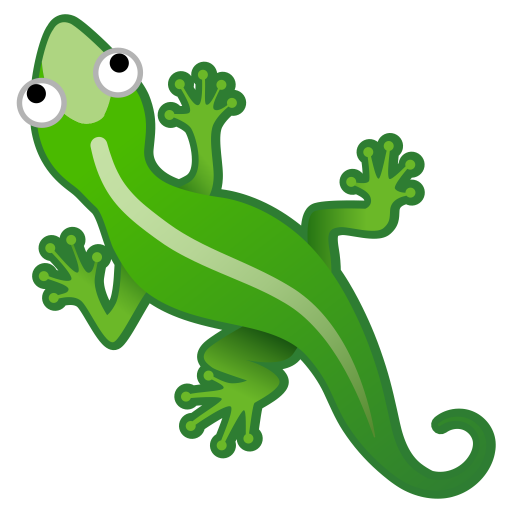 Lizard Icon Noto Emoji Animals Nature Iconset Google