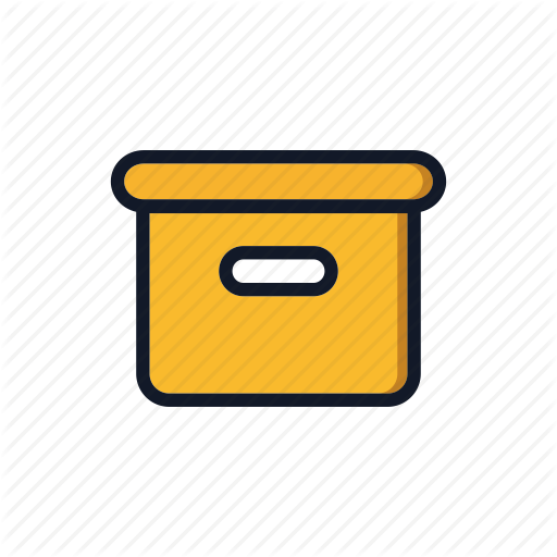 Box, Carboard, Carton, General, Package, Packing Icon
