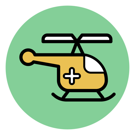 Medical Helicopter Icon