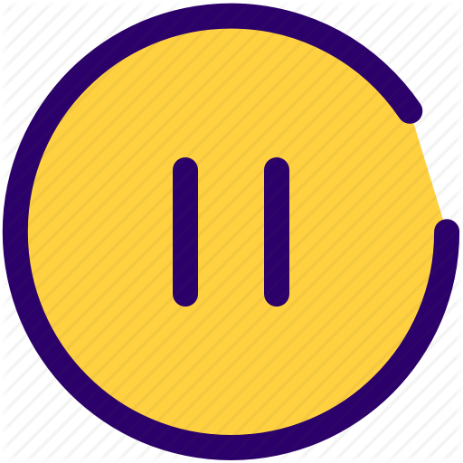 Music, Pause, Sound, Stop, Video Icon