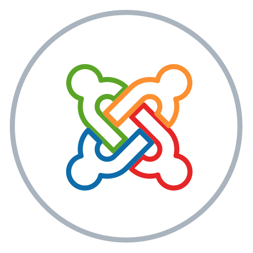 Blog, Cms, Joomla, Line, Neon, Social, Website Icon