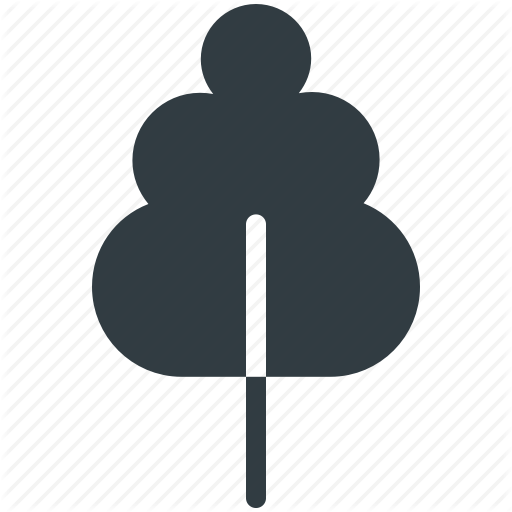 Generic, Nature, Shrub, Tree, Yard Tree Icon