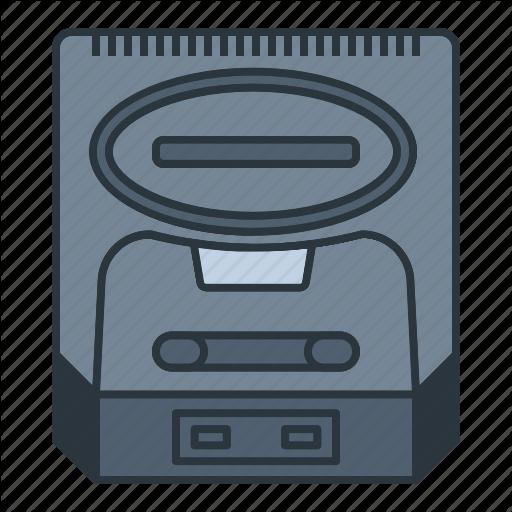 Console, Controller, Game, Gaming, Genesis, Joystick, Sega Icon