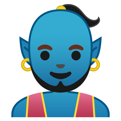 Man Genie Icon Noto Emoji People Stories Iconset Google