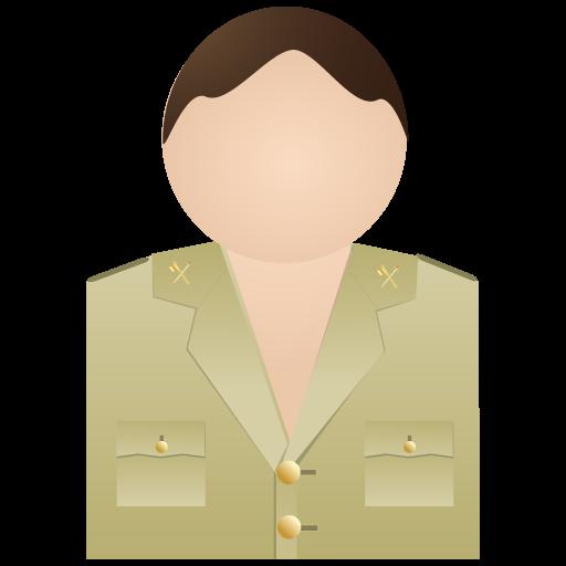 Civil, Guardia, No, Uniform Icon