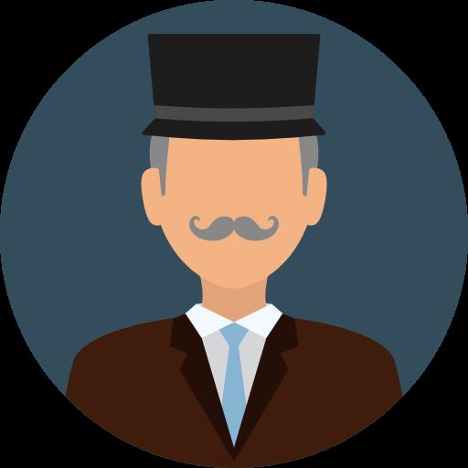 Man, User, Profile, Avatar, Social, Gentleman Icon