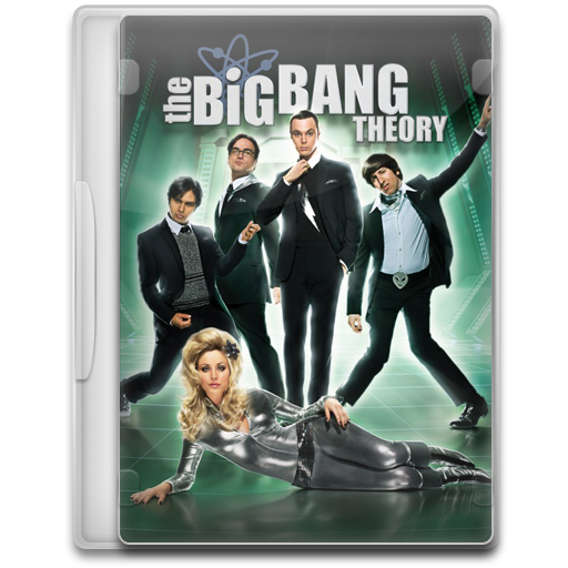 The Big Bang Theory Icon Tv Show Mega Pack Iconset