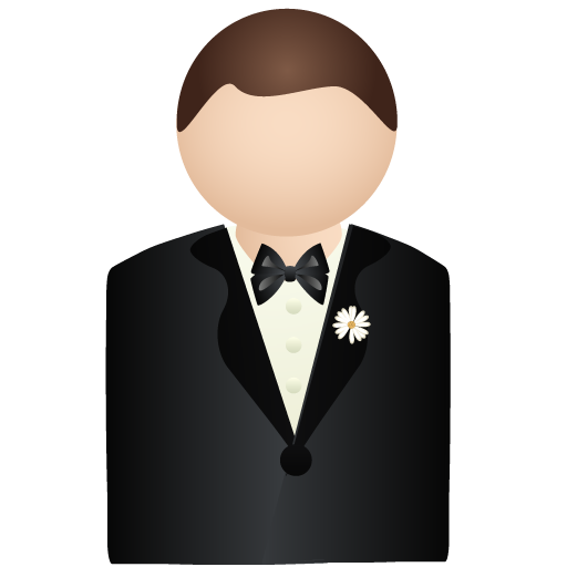 Handsome Groom Icon Free Icons Download