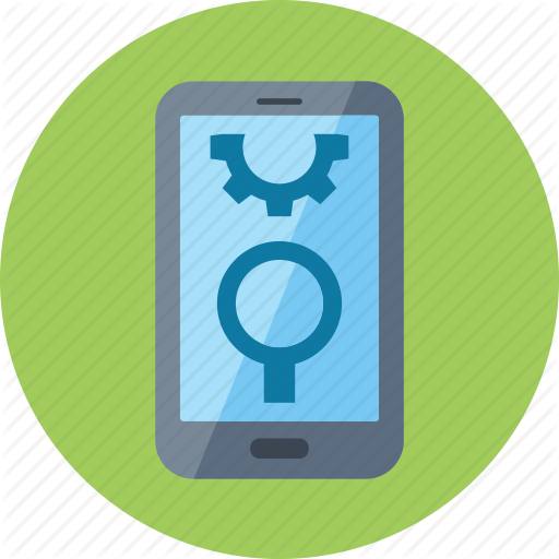Gear, Mobile Seo, Smartphone Icon
