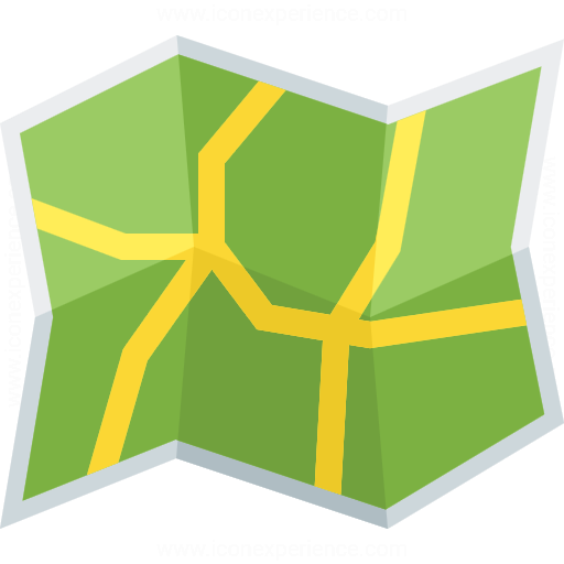 Iconexperience G Collection Map Roads Icon