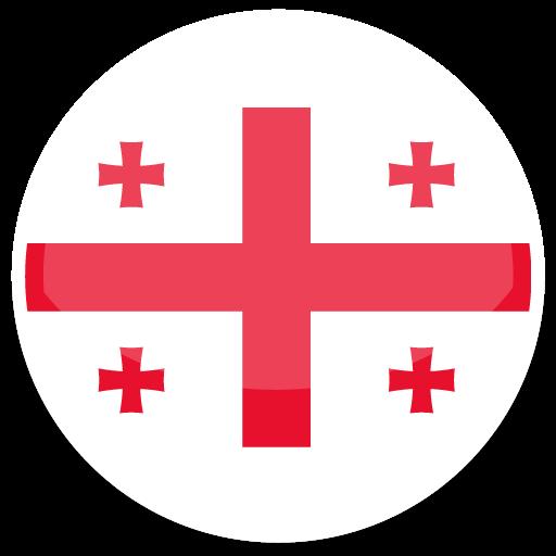 Georgia Icon Round World Flags Iconset Custom Icon Design