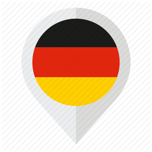 Country, Flag, Geolocation, German Flag, Germany, Map Marker Icon