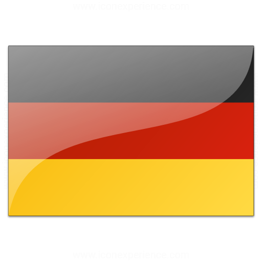 Iconexperience V Collection Flag Germany Icon