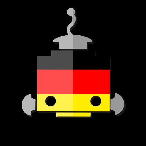Deutschland, German, Germany, De, Flag Icon