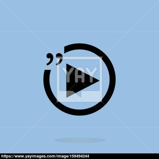 Quotation Mark Speech Bubble Quote Sign Icon Quotation Marks
