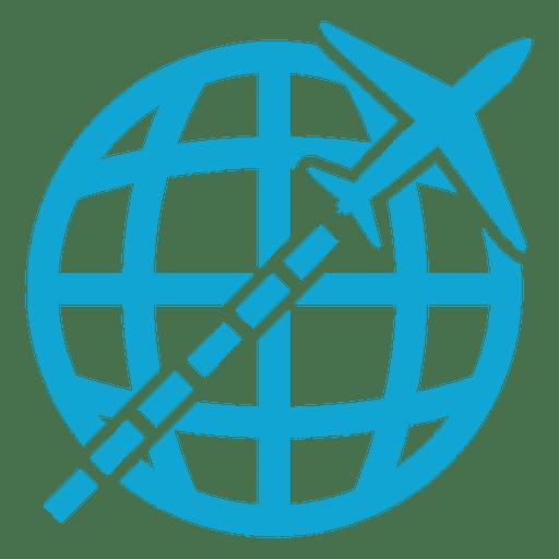 Flying Global Icon