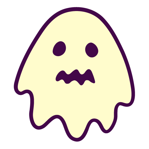 Ghost Icon Free Of Autumn Hand Drawn