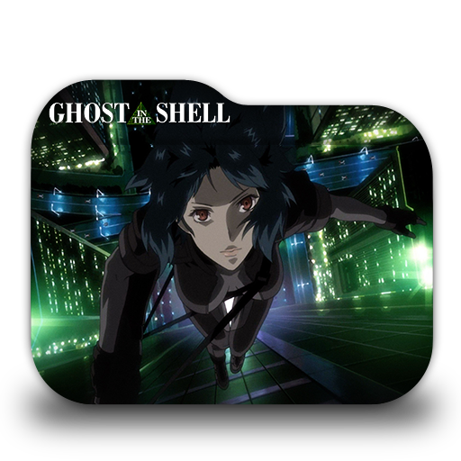Ghost In The Shell Stand Alone Comple Folder Icon
