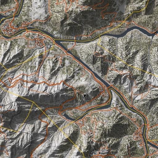 Bolivia, Ghost Recon Wildlands Map